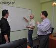 System sklepowy Miraga.pl - omawianie funkcjonalności - grafik, programista i kierownik projektów
